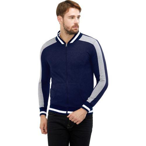 Maniac Full Sleeve Striped Men's Jacket