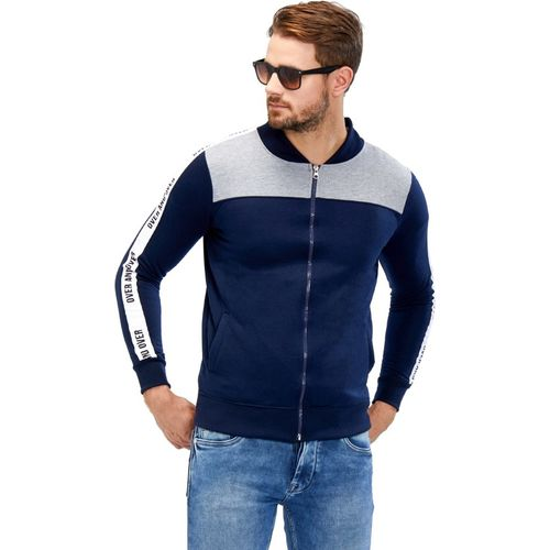 Maniac Full Sleeve Self Design Men Jacket
