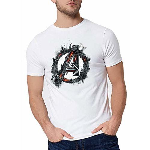 Ghantababajika white polyester printed t-shirt