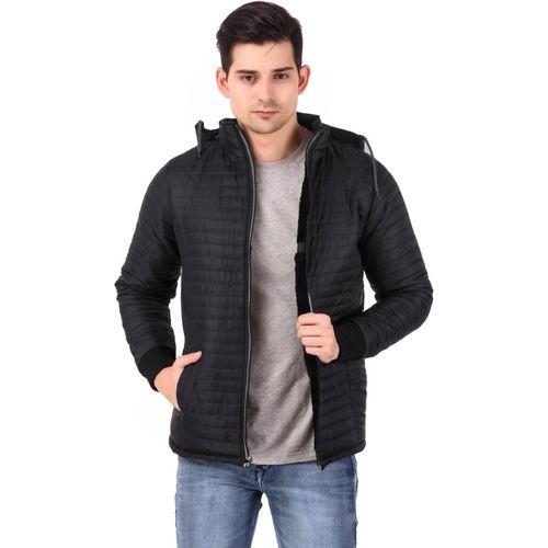 KLAXXY Full Sleeve Solid Men's Jacket