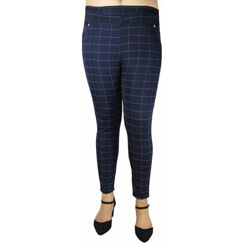 MIK CHECK DAAR Black Jegging(Checkered)