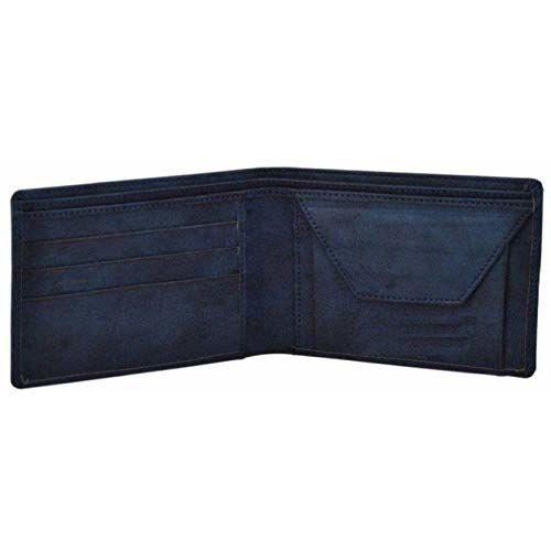 Gannet Blue Men's Leather Wallet