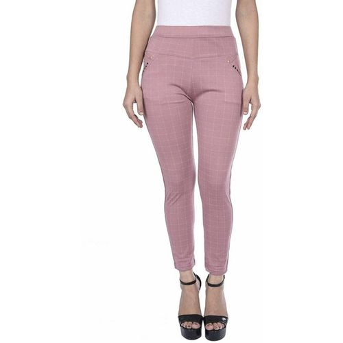 GS ANGEL Pink Jegging(Checkered)