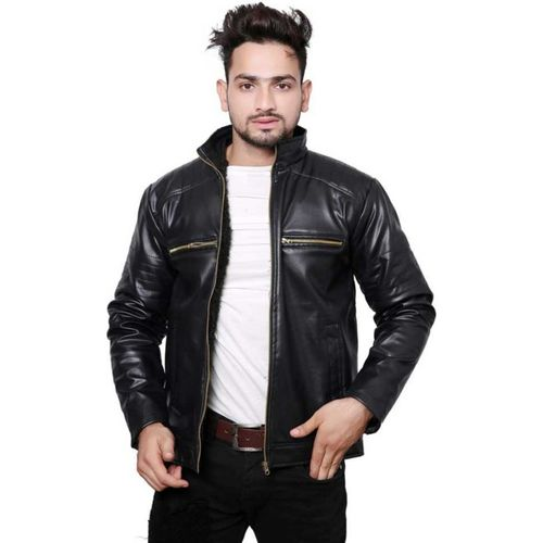 IAC Full Sleeve Solid Men's Jacket