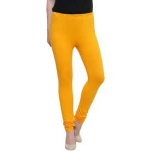 BOOTHOME Ankle Length Legging(Yellow, Solid)