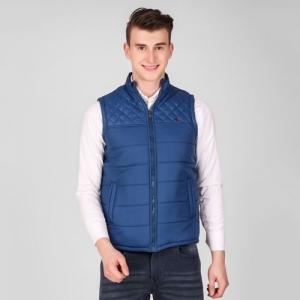 ZEPPI Sleeveless Solid Men's Jacket