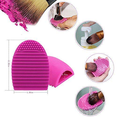 MISS & MAM Makeup Brushes Set Premium Synthetic Kabuki Foundation Face Powder Blush Eyeshadow Brush Makeup Brush Kit with Blender Sponge and Brush Egg