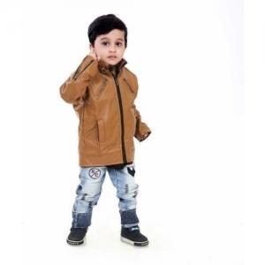 INTACOX Full Sleeve Solid Boys Jacket