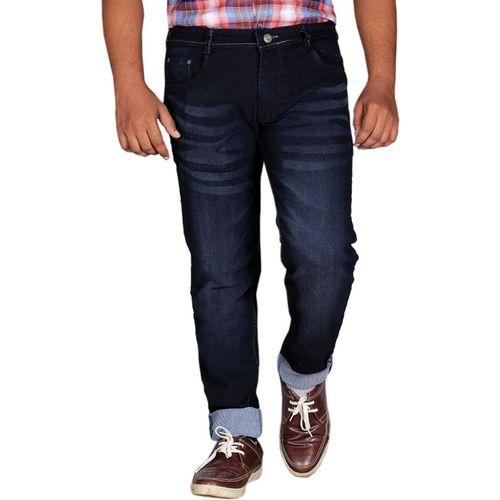 Lzard Slim Men's Black Jeans