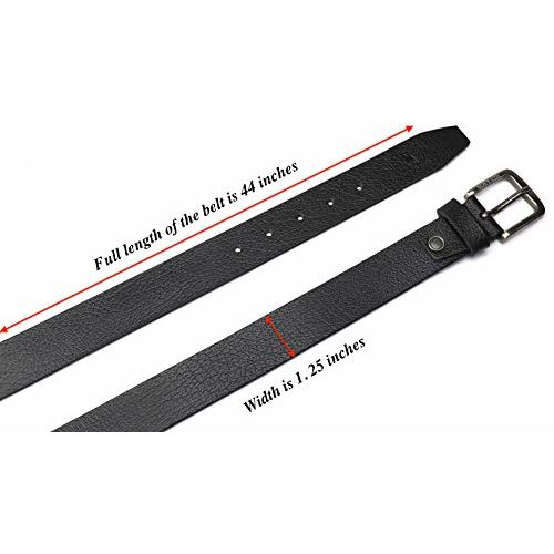 HIDE & SKIN # Urbanaro # Men's # 100% Genuine Leather Belt # Free Size