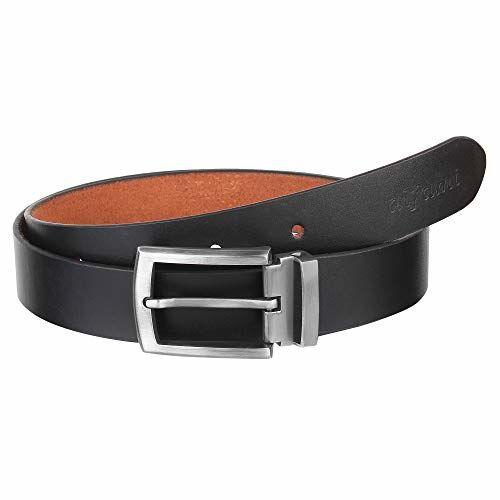 Alfami Genuine Black Leather Belt for Men (All Sizes 28 to 46) 6 Month Warranty, belt for men formal stylish, leather belt for men formal branded, gents belt