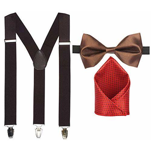 Sorella'z Men's/Women's Y-Back Suspender (Coffee)