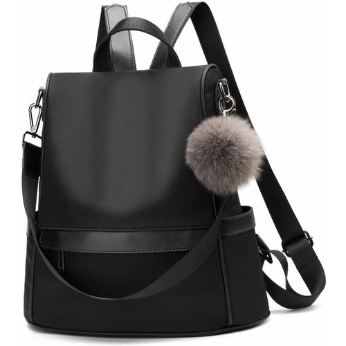 Unique Black Fashion Waterproof College Backpack
