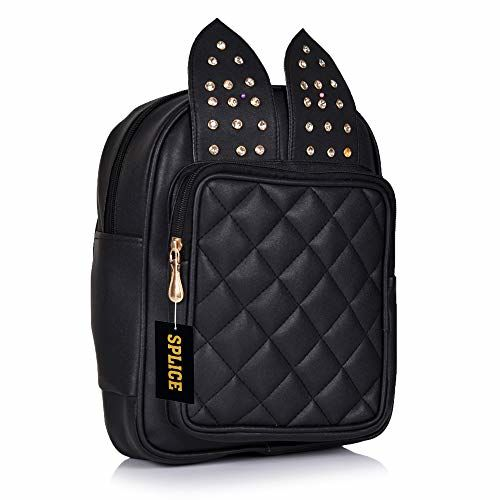 RIDGEWOOD Studded Casual Fashion Leather Shoulder Bag Backpack for Women Chest Bag Pack
