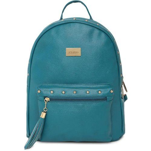 Kleio Designer Women Backpack Hand Bag For College Girls and Work Ladies 8 L Backpack(Green)