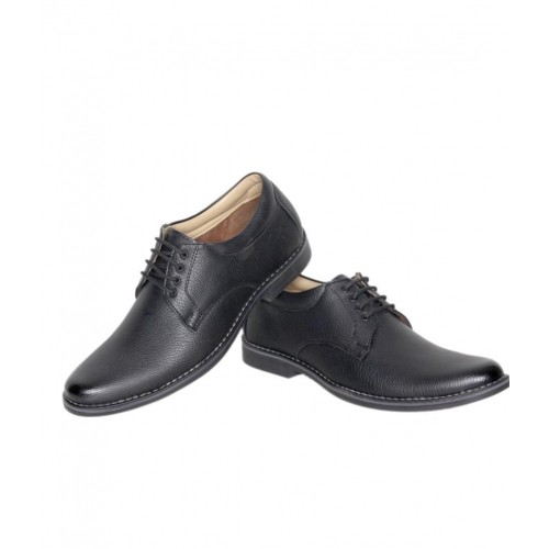 86699c225ec Buy Leeport Black Synthetic Leather Lace Up Formal Shoes online ...