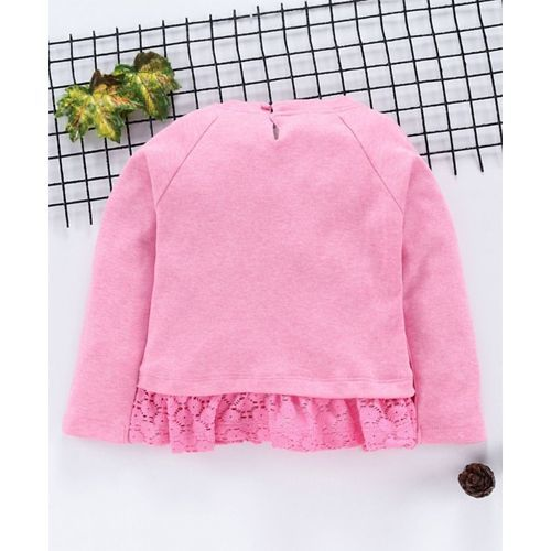Babyhug  Pink Knit Top
