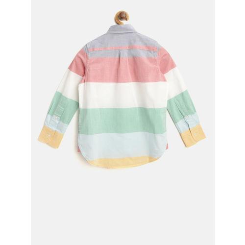 GAP Boy's Stripe Poplin Shirt