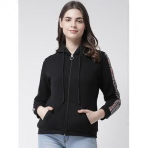 Club York Black Fleece  Hooded Sweatshirt