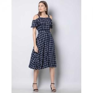 FabAlley Women Shirt Blue Dress