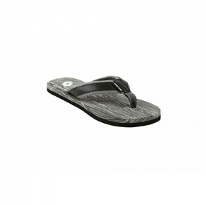 Lotto Black/Grey Concetto Slippers for Men 6