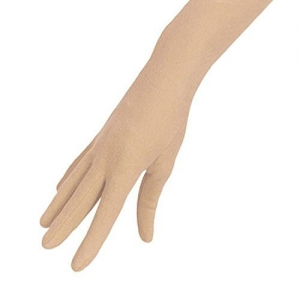 London Paree Women's Cotton Full Hand Gloves for Sun Protection Bike Riding (Beige, Free Size)