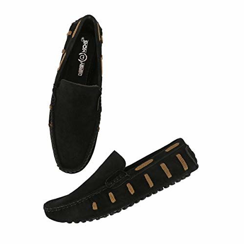 DERBY KICKS Suede Leather Loafers for Men