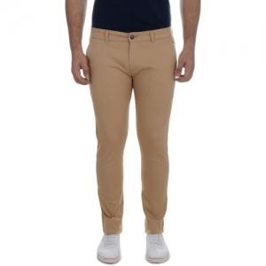 Ben Martin Slim Fit Men Brown Trousers