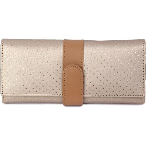 Kandel London Sports, Party, Formal, Casual Gold Clutch