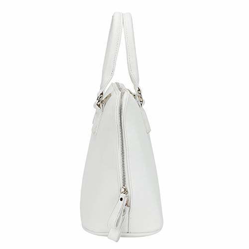 Lino Perros Women's Satchel (White)