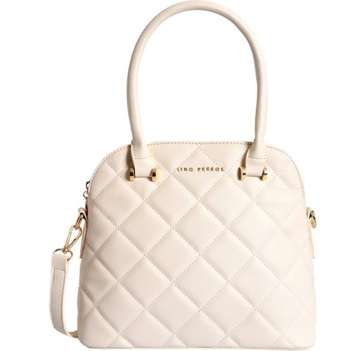Lino Perros Women White Shoulder Bag