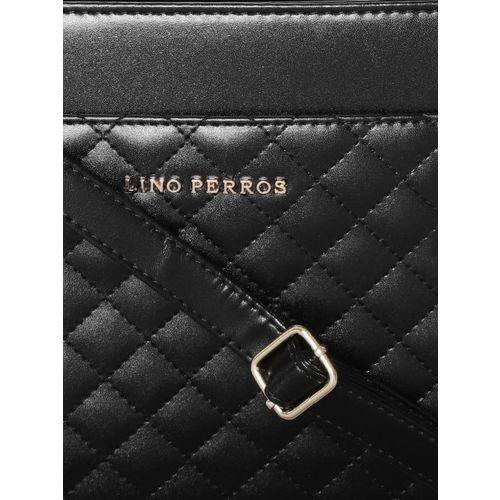 Lino Perros Women Black Shoulder Bag