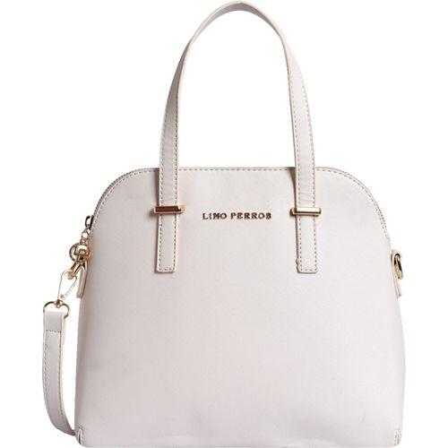 Lino Perros Women White Satchel