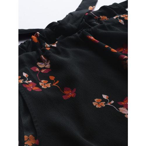 Vero Moda Women Black Printed Top