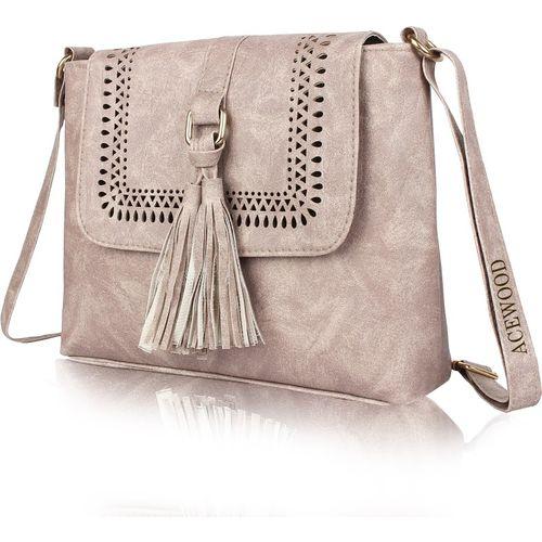 MUSRAT Grey Sling Bag