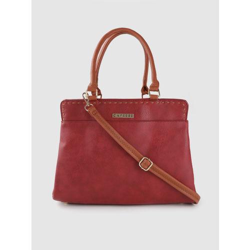 Caprese Red Solid AURILIA Shoulder Bag