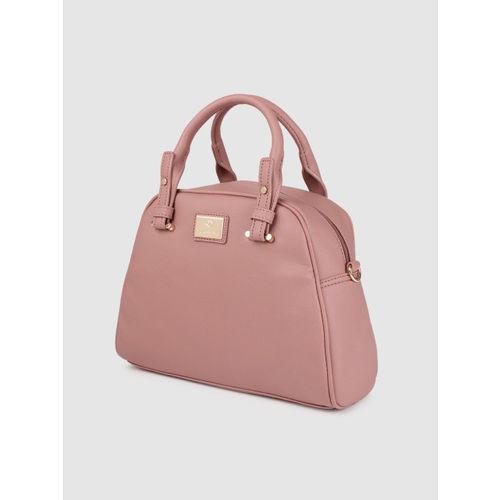 Caprese Women Pink Solid Handheld Bag