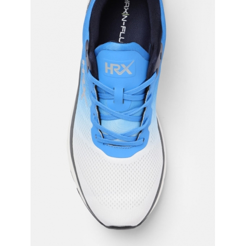 HRX by Hrithik Roshan Blue Mesh N-Flux Lace-up Running Shoes