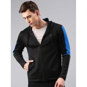 HRX by Hrithik Roshan Active Black Solid Jacket