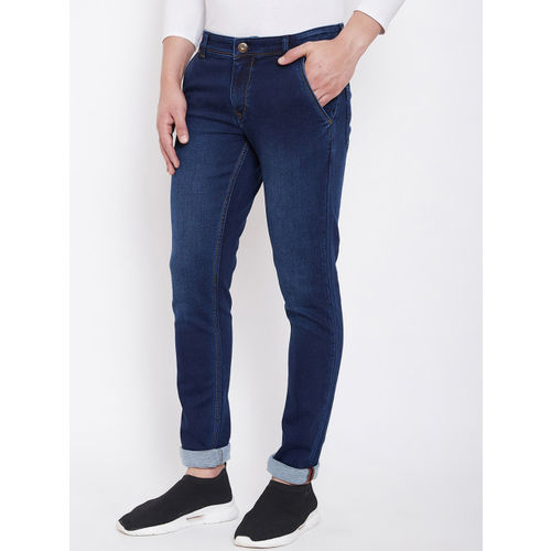American Archer Men Blue Skinny Fit Low-Rise Clean Look Stretchable Jeans