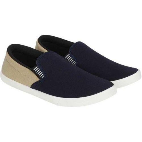 Nobelite Designer Loafers For Men(Blue, Beige)