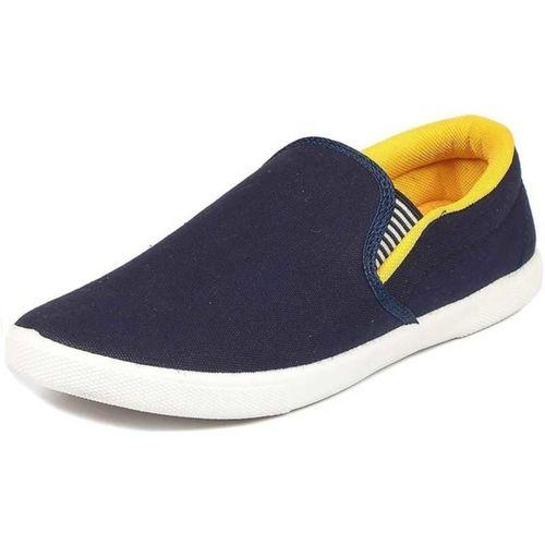 Nobelite Designer Loafers For Men(Blue, Yellow)