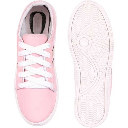 Longwalk Perfect Stylish Girls Casual Shoes Sneakers For Women(Pink)