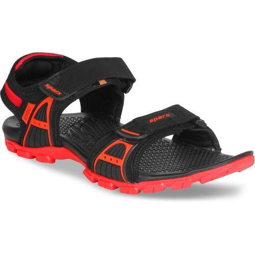 Sparx SS-492 Men Black, Red Sports Sandals