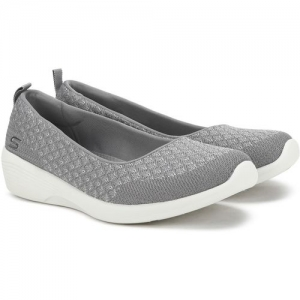 Skechers ARYA - GET REAL Bellies For Women(Grey)
