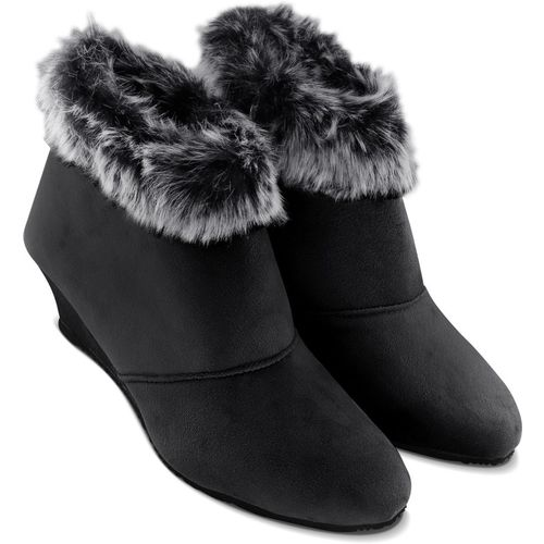 SINLITE Stylish Boots For Women(Black)
