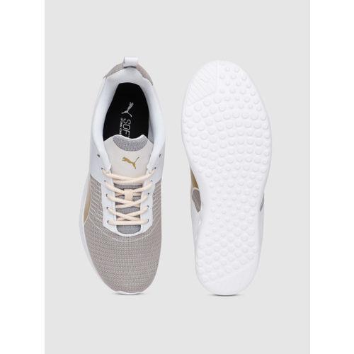 Puma Women Grey & White Carson Pro Running Shoes