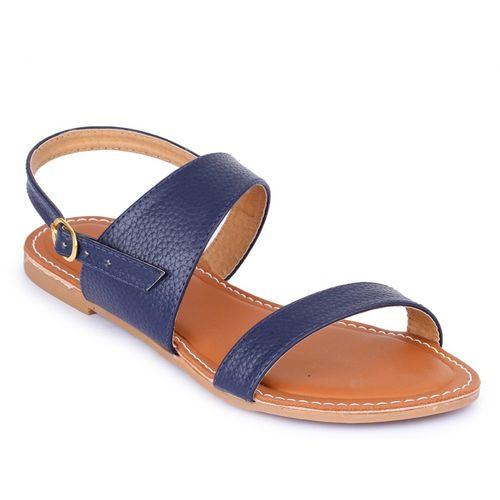 Shoe Swagg Women Blue Flats