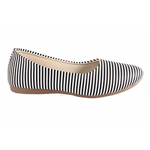 GREVITY Collection Black synthetic casual bellies