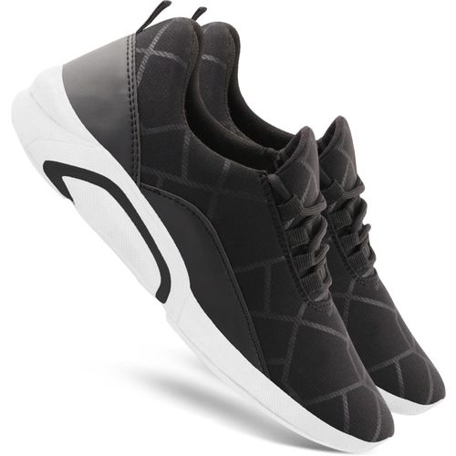 Chevit 460 Sports Running Shoes For Men(Black)